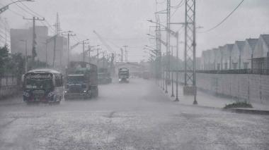 Se esperan lluvias fuertes durante los próximos días en la región Caribe, según el Ideam.