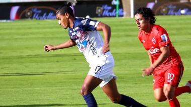 Gabriel Fuentes, lateral izquierdo de Junior.