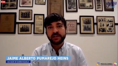 Intervención del alcalde Pumarejo en el Colombia Investment Summit.