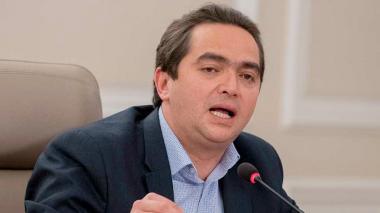 El viceministro de Hacienda Juan Londoño.