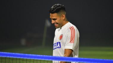 Radamel Falcao García espera comandar el ataque de la Selección Colombia.