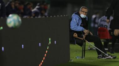 Óscar Washington Tabárez, director técnico de la selección uruguaya.