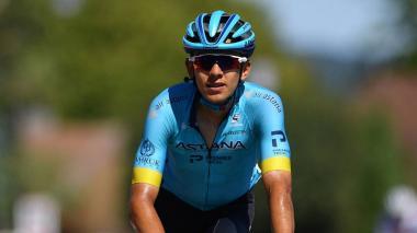 Harold Tajada es uno de los ciclistas del Astana.
