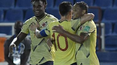Colombia 3, Venezuela 0: sin despeinarse