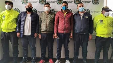 Miembros de la banda 'Los Galí'.