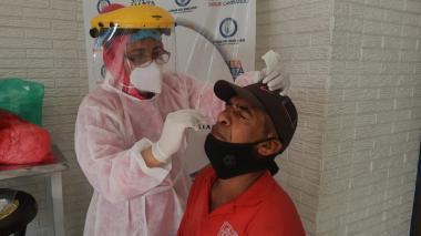 En Santa Marta: 250 pruebas PCR, toma de barrios y apoyo a taxistas