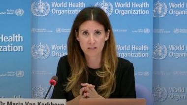 Maria Van Kerkhove, directora técnica de la OM.