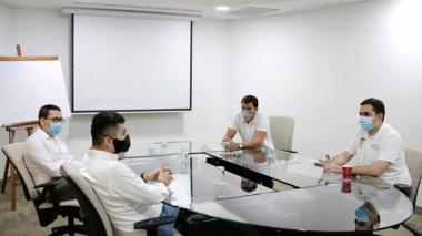Blel anuncia proyectos en saneamiento básico y aguas para Bolívar
