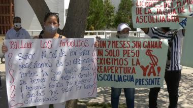 Plantón en Valledupar: comerciantes de billares y discotecas piden apertura