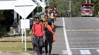 Defensoría pide instalar puestos de ingreso para atención a migrantes