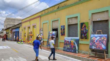 Barrio Abajo le apuesta a ser el museo a cielo abierto más grande del mundo