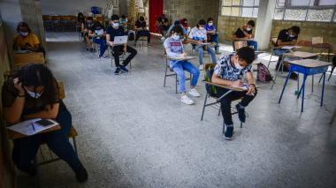 En Puerto y Malambo, dos colegios prueban clases presenciales