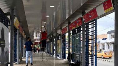 Se inicia la recuperación de las estaciones de Transmetro