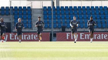 El Real Madrid pone la mente en la Champions sin Ramos