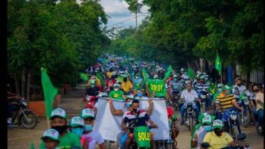Elecciones en Repelón: amenazas y caravanas marcan la recta final