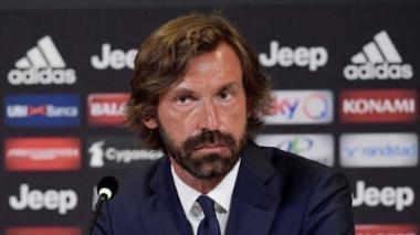 Andrea Pirlo se está estrenando como director técnico de la Juventus.