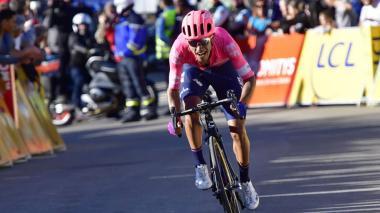 Daniel Martínez llega a la Vuelta con ganas de pelear la general