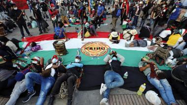 Minga se une a jornada de protesta social contra el Gobierno
