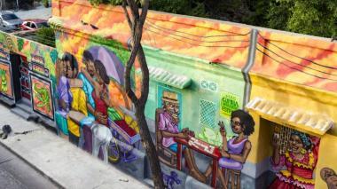 El lienzo multicolor del Centro Histórico de Santa Marta