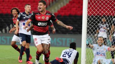Flamengo 3, Junior 1: y pudo ser peor