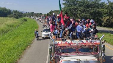 Minga indígena ya había llegado a Bogotá en los últimos diez años