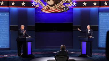 Así será el último debate entre Trump y Biden