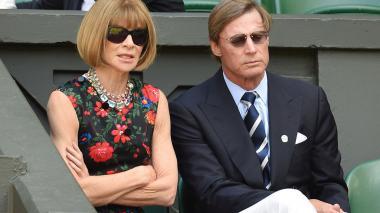 Editora de Vogue, Anna Wintour se separa de su marido tras 20 años
