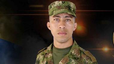 Jaír Roberto Toledo Lázaro, soldado fallecido.