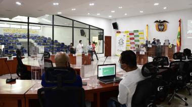 La tarde del jueves comenzó la discusión del proyecto de presupuesto presentado por el gobierno distrital.
