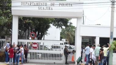 Comando de Policía de La Guajira.