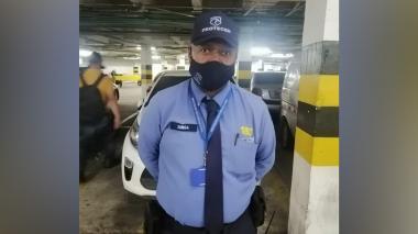 El vigilante Zúñiga.