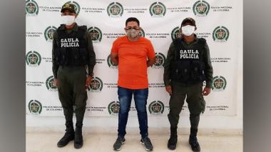 Wilmer Fuentes Brito, 'El Duro' o 'El Zar del Secuestro'.