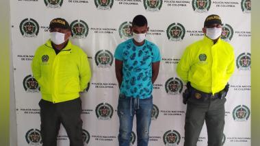 Cae 'El Vincha' en Fundación por hurto calificado y agravado
