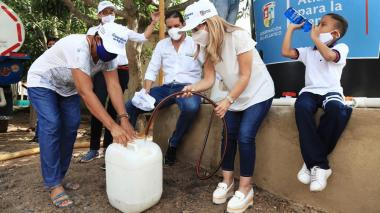 Gobernación ha entregado 15 millones de litros de agua