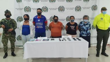 Desmantelan banda dedicada al comercio de droga en Las Mercedes, Montería
