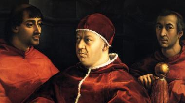 Rafael pintó íntegramente el retrato del papa León X, según Los Uffizi