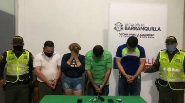 Policía captura a cuatro presuntos atracadores en Las Delicias