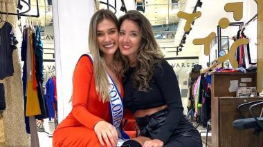 Reencuentro de reinas entre Daniela Álvarez y María Fernanda Aristizábal