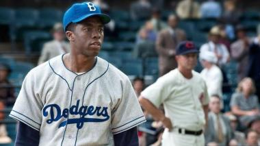 '42': el batazo de Boseman con Los Dodgers