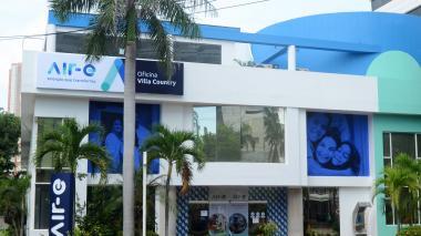 Sede Villa Country de la empresa Air-e.