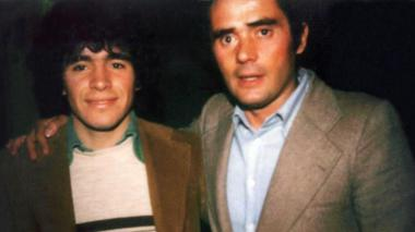 Maradona junto a Gianni Di Marzio.