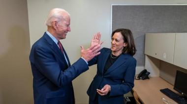 Joe Biden y Kamala Harris: La dupla demócrata