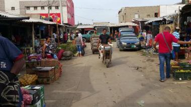 Comerciantes del mercado de Riohacha presentaron denuncias por amenazas