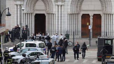 Ataque en Francia: tres muertos en un atentado terrorista en Niza