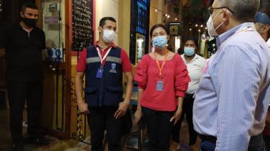 Cierran tres negocios en el centro de Santa Marta