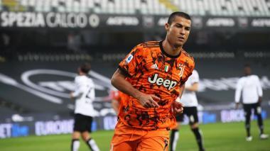 Cristiano resucita a Juventus con doblete ante el Spezia