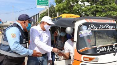 Lanzan campaña para prevenir accidentes en Soledad