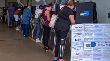Estados Unidos votó en calma en medio de pandemia e incertidumbre