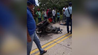 Dos muertos en aparatoso accidente de motos en vías de Córdoba