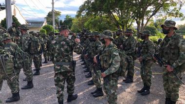 Ejército neutraliza incursión armada en el sur de Córdoba